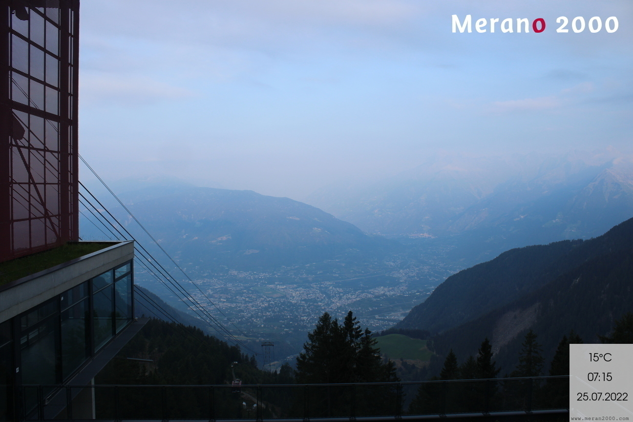 Webcam - View on Merano