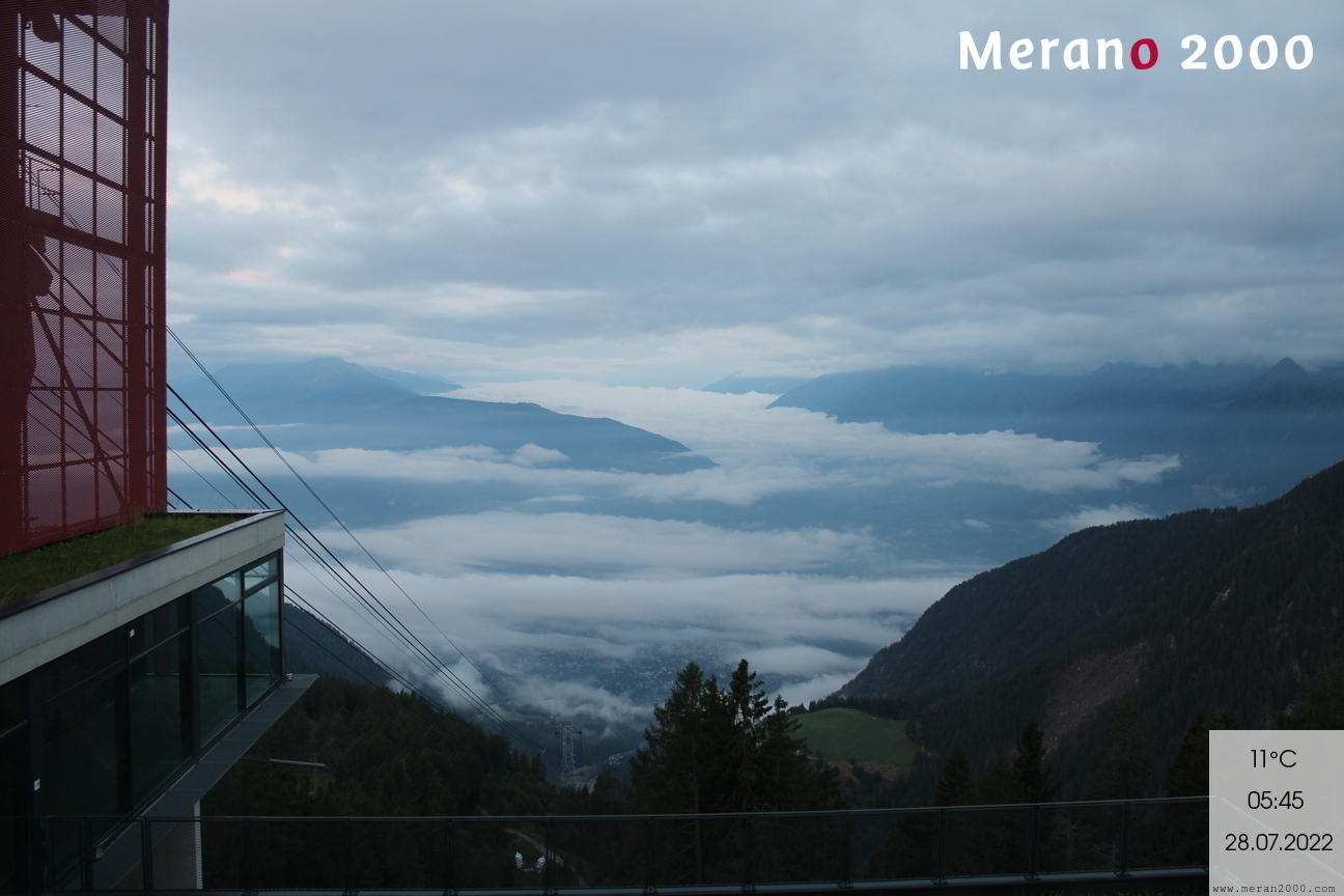 Webcam - Vista su Merano