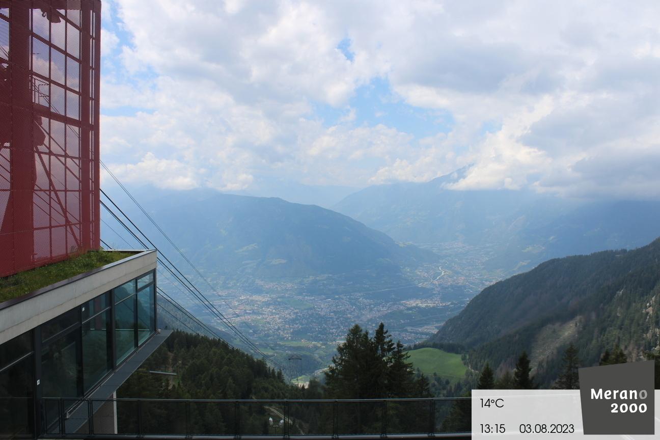 View on Merano