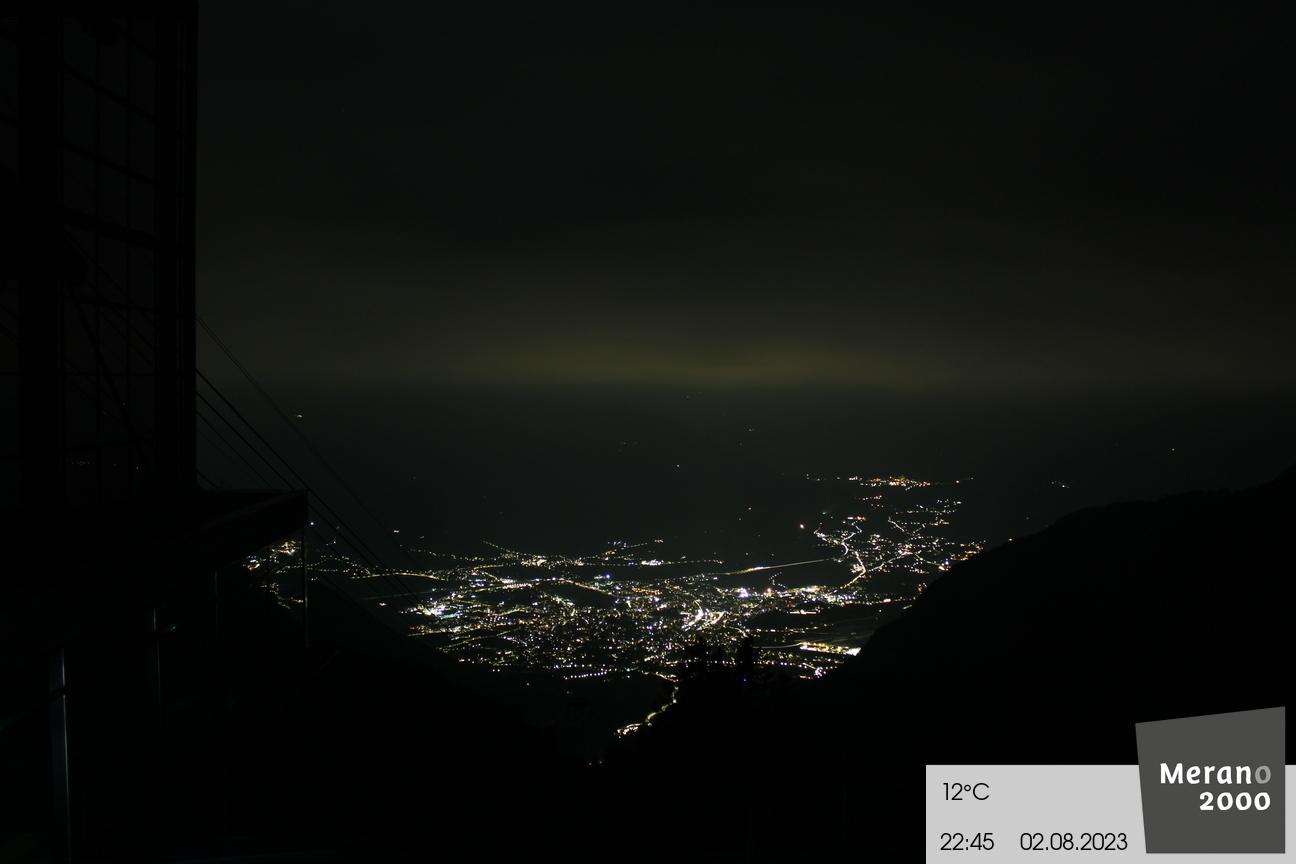 Vista su Merano