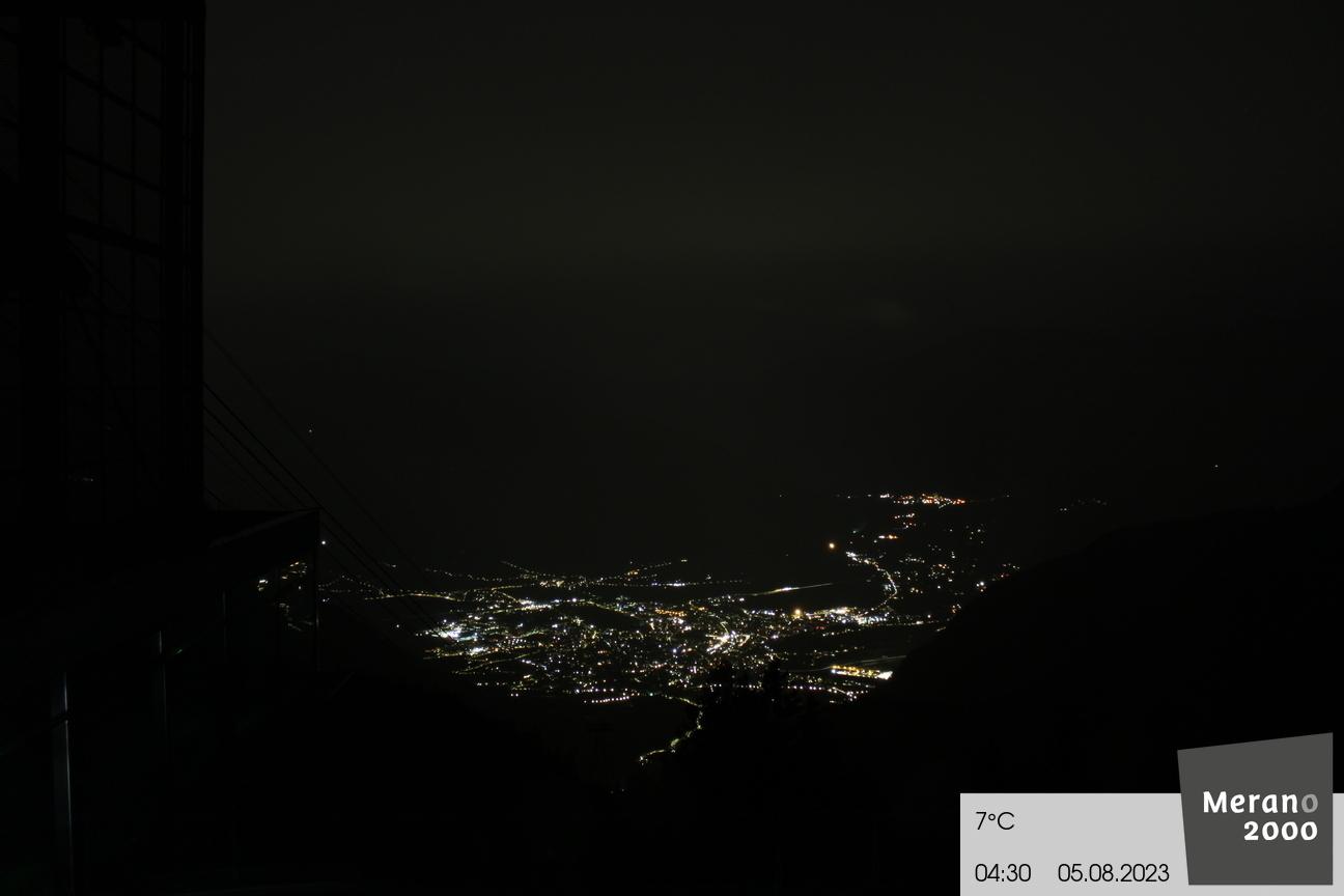 Aussicht auf Meran