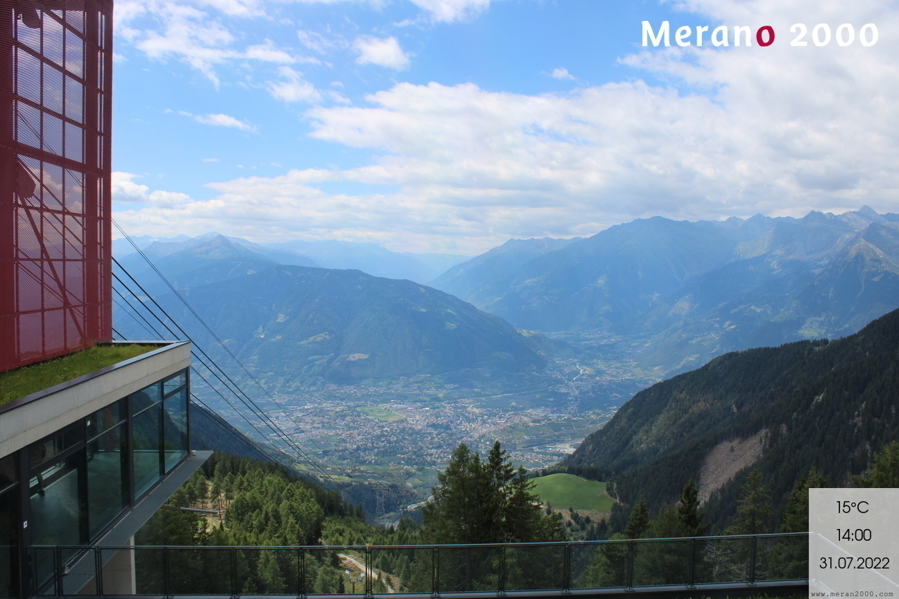 View on Merano