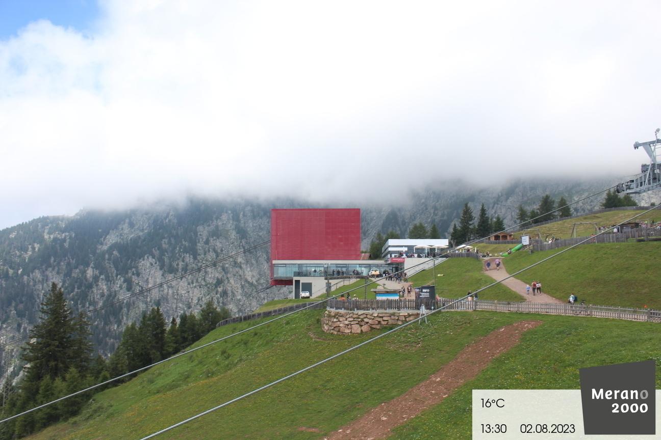 Bergstation Seilbahn Meran 2000